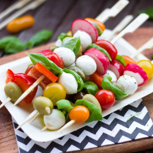 Canva - Assorted Vegetable Dishes on White Plate