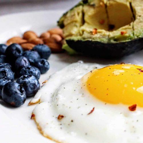 Canva - Egg Near Blueberries