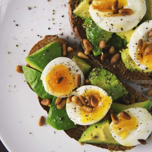 Canva - Healthy Food Snack of Eggs and Avocado on Toasted Bread